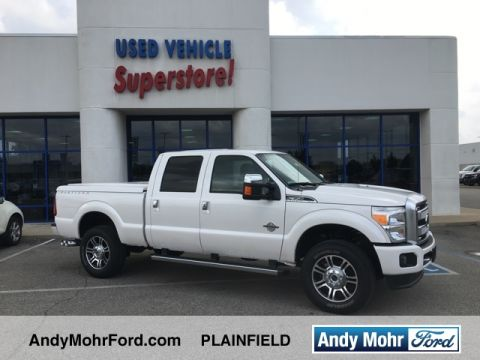 Used trucks for sale indiana andy mohr automotive group certified pre owned 2016 ford f 350sd platinum fandeluxe Choice Image