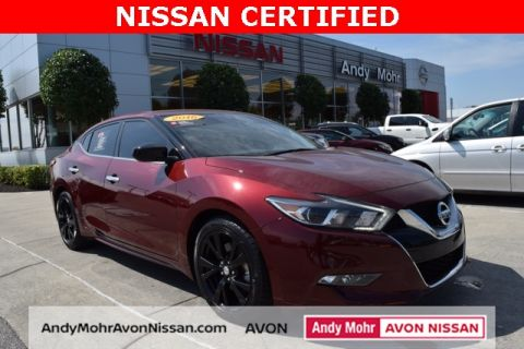 2017 nissan maxima sr for sale indianapolis in andy mohr automotive certified pre owned 2017 nissan maxima 35 s fandeluxe Gallery