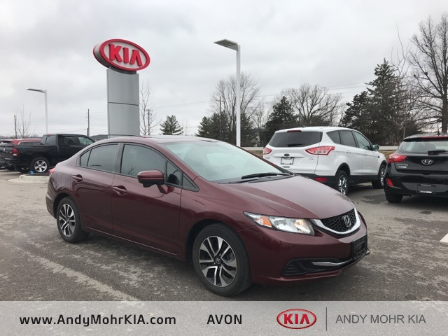 2014 Honda Civic Ex For Sale Indianapolis In C91064a Andy Mohr