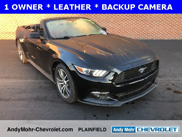 2015 Ford Mustang Ecoboost Premium For Sale Indianapolis In Andy