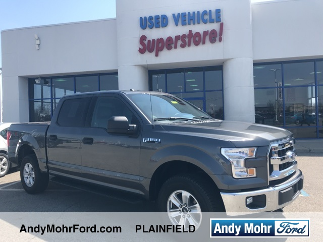 certified used 2015 ford f 150 xlt 4d supercrew near indianapolis p2436 andy mohr. Black Bedroom Furniture Sets. Home Design Ideas
