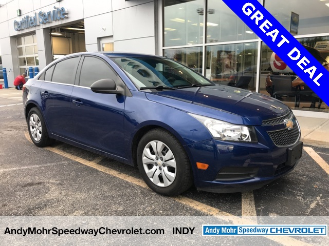 Captivating Pre Owned 2012 Chevrolet Cruze LS