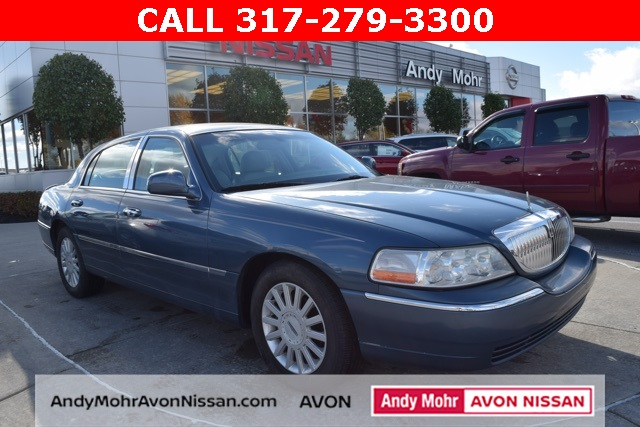 2005 Lincoln Town Car Signature For Sale Indianapolis In P3514a
