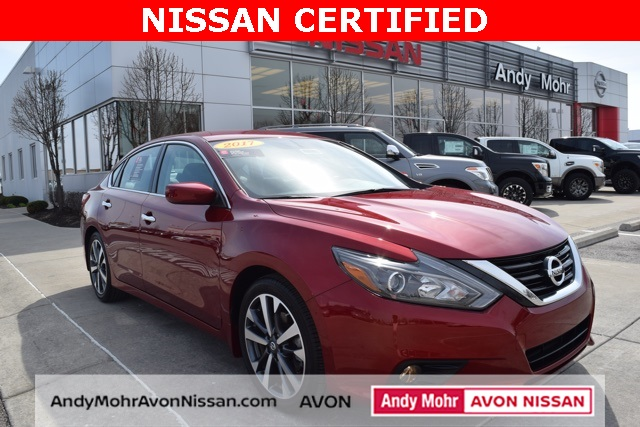 Certified used 2017 nissan altima 25 sr 4d sedan near indianapolis certified pre owned 2017 nissan altima 25 sr fandeluxe Images