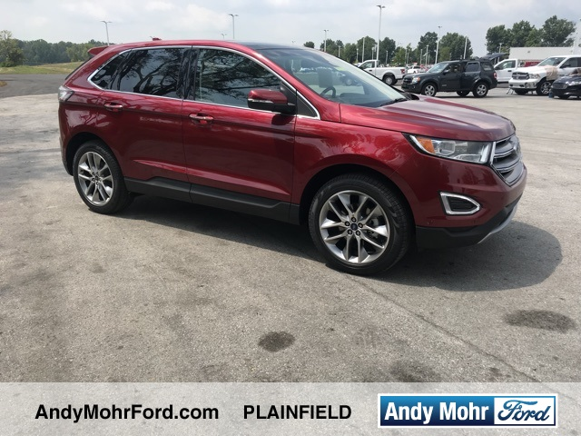 Certified Pre Owned  Ford Edge Titanium
