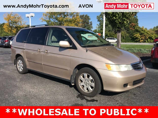Perfect Pre Owned 2002 Honda Odyssey EX L