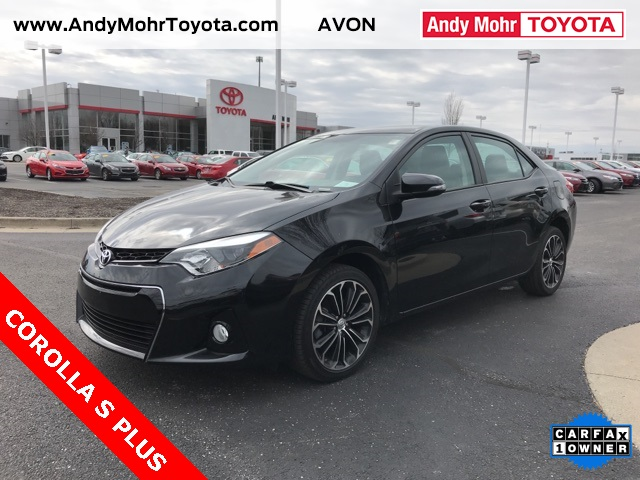 Certified used 2015 toyota corolla s plus 4d sedan near indianapolis certified pre owned 2015 toyota corolla s plus fandeluxe Image collections