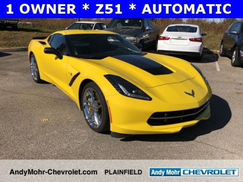 Pre-Owned 2017 Chevrolet Corvette Stingray Z51